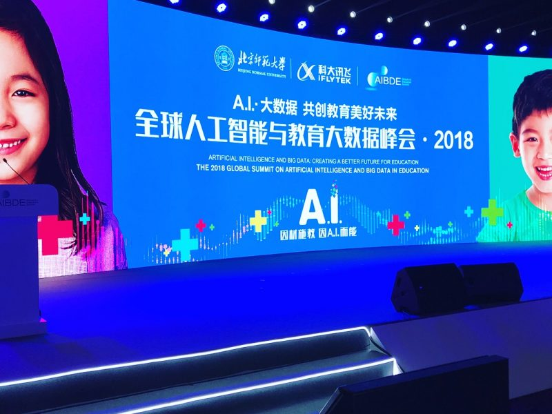 Neuranext Chairman Dr. Andrew Kyngdon delivers paper at the 2018 Global Summit on Artificial Intelligence and Big Data in Education in Beijing, China.
