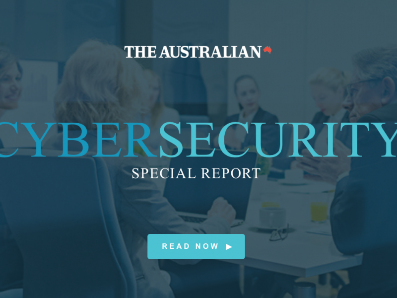 The Australian quotes Neuranext in Cyber Security Special Report.