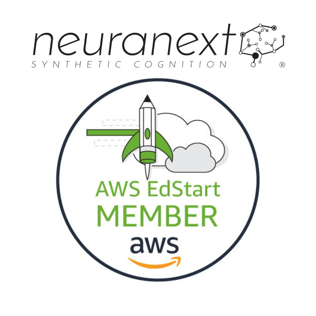 Neuranext joins Amazon's AWS EdStart program.